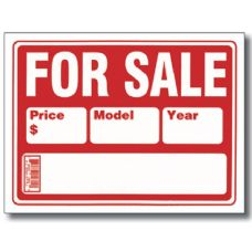 """72 Units of BAZIC 12"""" X 16"""" For Sale Sign (2-Line)"""