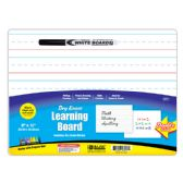 "24 Units of 9"" X 12"" Double Sided Dry Erase Learning Board w/ Marker - Erasers"