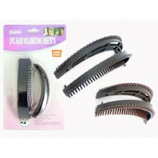 144 Units of HAIR VOLUMLZING INSERTS 2PC - Hair Accessories