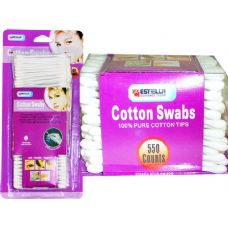 60 Units of COTTON SWAB 550 COUNT ESTELLA - Cotton Balls & Swabs
