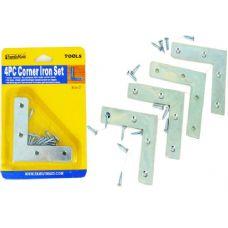 96 Units of 4pc Corner Braces With Screws