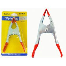 """96 Units of SPRING CLAMP 6"""" WITH RED HANDLE"""