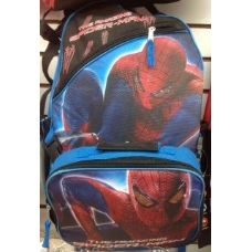 24 Units of Spiderman Backpack With Insulated Lunch Box Cooler - Licensed Backpacks
