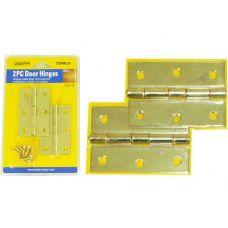 """96 Units of DOOR HINGES 2PC 3"""" 1.66MM"""