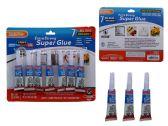 144 Units of 7 Pc Super Glue - GLUE-OFFICE/SCHOOL