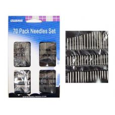 288 Units of 70 Piece Sewing Needles - Sewing Supplies