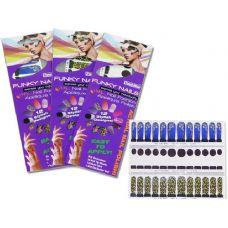 288 Units of 12 Piece Nail Wrap - Manicure / Pedicure Items