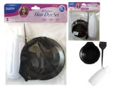 96 Units of 3pc Hair Dye Set - Hair Accessories