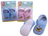 72 Units of Baby Shoes. Car & Horse Design - Baby Apparel