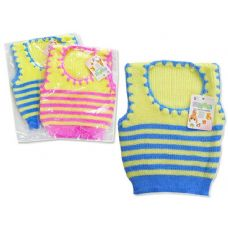 144 Units of BABY SLEEVELESS SWEATER 4ASST - Baby Apparel
