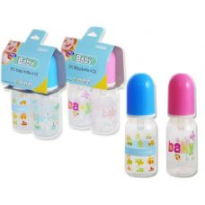 72 Units of Baby Bottles 4 oz- 2 Piece - Baby Bottles