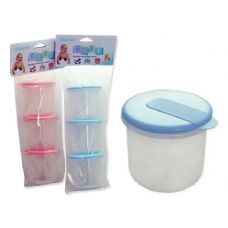 144 Units of Baby Storage Food Containers - Baby Utensils