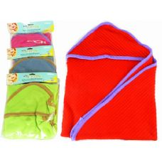 72 Units of BABY HOODED BLANKET