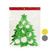 """90 Units of Wholesale 12"""" Christmas Tree Shape Hanging Decoration"""