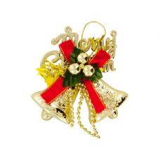 "150 Units of Wholesale 4"" Christmas Bells Hanging Decoration"