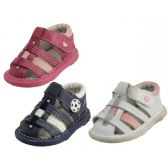 24 Units of Baby Leather Sandals
