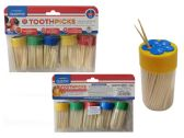 96 Units of 5pc Toothpicks With Dispensers - Toothpicks