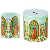 48 Units of Coin Bank, Saving Tin, Guadalupe, - Coin Holders/Banks/Counter