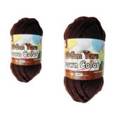 96 Units of YARN BROWN COLOR 100GM XL - Sewing Supplies