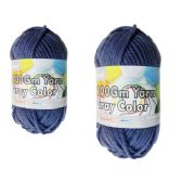 96 Units of YARN GRAY COLOR 100GM XL - Sewing Supplies