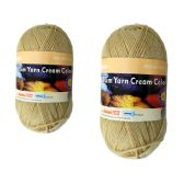 96 Units of YARN CREAM COLOR 100GM M - Sewing Supplies