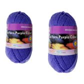 96 Units of YARN PURPLE COLOR 100GM M - Sewing Supplies
