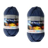 96 Units of YARN GRAY COLOR 100GM M - Sewing Supplies