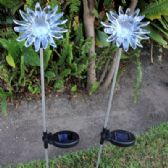 24 Units of Solar Light-Sunflower - Garden Decor