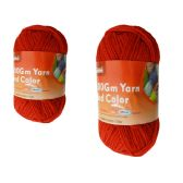 96 Units of YARN RED COLOR 100GM L - Sewing Supplies