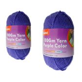 96 Units of YARN PURPLE COLOR 100GM L - Sewing Supplies