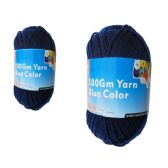 96 Units of YARN BLUE COLOR 100GM - Sewing Supplies