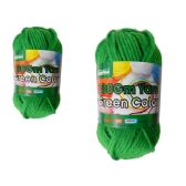 96 Units of YARN GREEN COLOR 100GM XL - Sewing Supplies