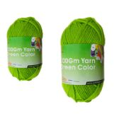 96 Units of YARN GREEN COLOR 100GM - Sewing Supplies