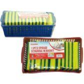 48 Units of 13 Piece Scrubber Sponge Set