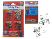 144 Units of 135 pc Jumbo Size Safety Pin - SAFETY PINS