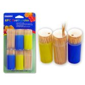 96 Units of 6 Pack Toothpicks - Toothpicks
