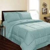 6 Units of 1 Piece Embossed Comforter Queen Size In Assorted Colors - Comforters