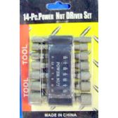 48 Units of 14pc Power Nut Driver Set
