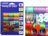 144 Units of 25pc Sewing Kit