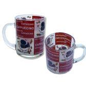 "72 Units of MUG 1PC 2.8"" DIA X3.5"" H COFFEE DESIGN - Coffee Mugs"