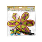 96 Units of WINDMILL BUTTERFLY DESIGN1 - Wind Spinners