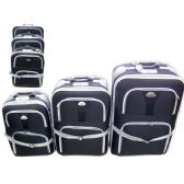 24 Units of LUGGAGE 3 IN 1 BLACK - Travel