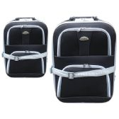 24 Units of LUGGAGE 1PC SMALL BLACK - Travel