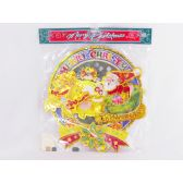 144 Units of XMAS ORNAMENT 33.5*31CM - X-MAS