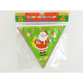 96 Units of XMAS FLAG 8PCS - X-MAS