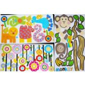144 Units of wall sticker assorted style, great for anyone's room. - Stickers