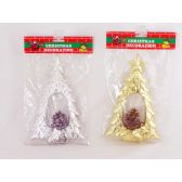 144 Units of X'MAS DECORATION TREE DESIGN - Christmas Decorations