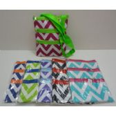 48 Units of Large Cross-Body Hand Bag [Chevron] - Shoulder Bags & Messenger Bags