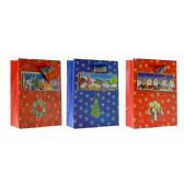 108 Units of Christmas X-Large Size Gift Bag - Christmas Gift Bags and Boxes