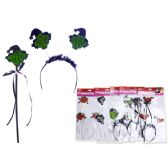 144 Units of Halloween Witch Hair Band - Halloween & Thanksgiving